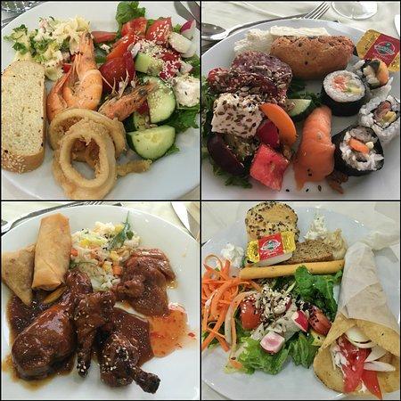 Archipelagos buffet meals