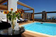 Creta maris vilă cu piscină