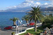 Vedere din fața hotelului