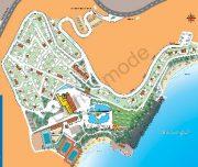Harta hotelului