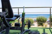 Sală fitness aer liber