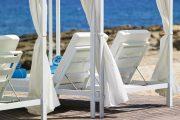 Gazeboos Plajă privată