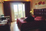 Cameră paturi twin