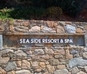 Sea side resort spa