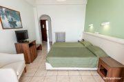 Green twin bedroom