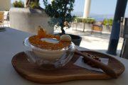 Desert de miere cu iaurt
