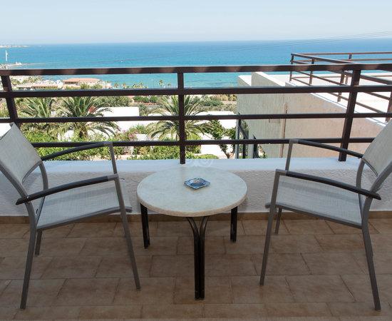 Dublă standard cu vedere la mare balcon